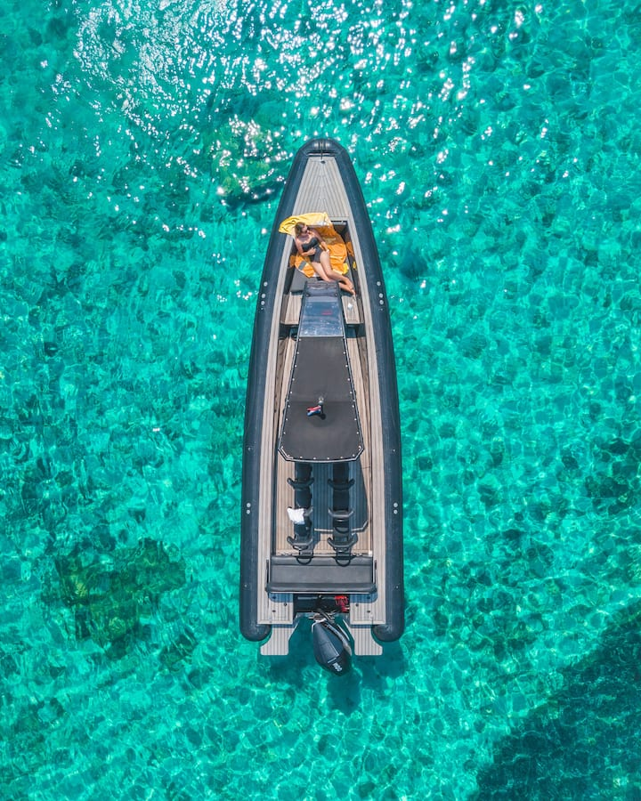 Our best-in-class RIB boat