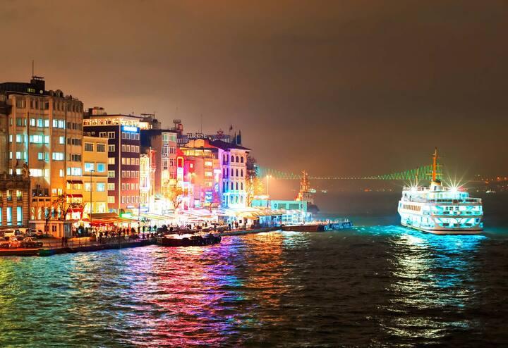 Nothing like the Bosphorus at Night!