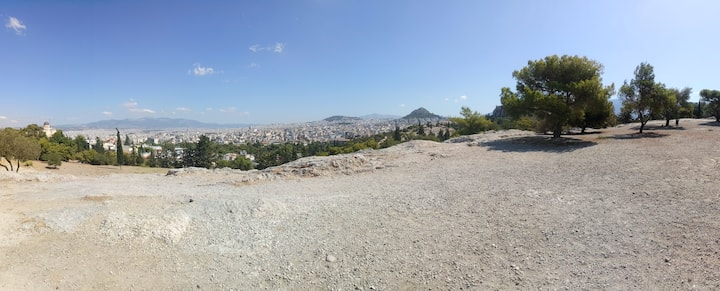 View from Athens observatory hill