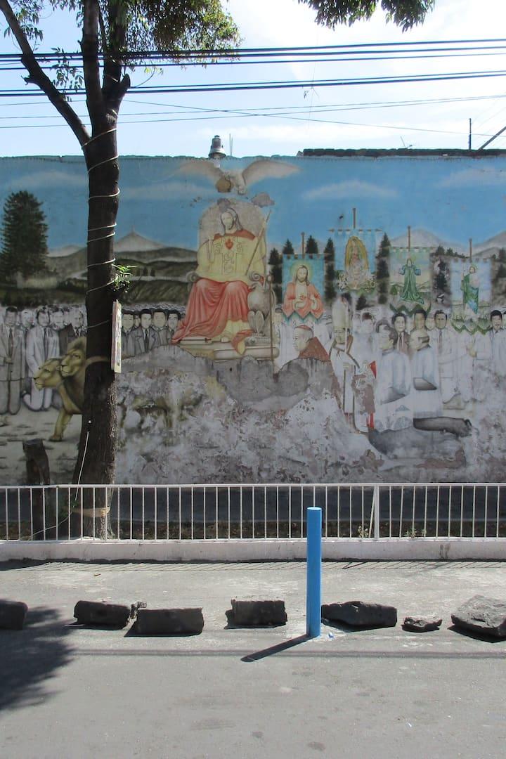 Mural de los Caidos