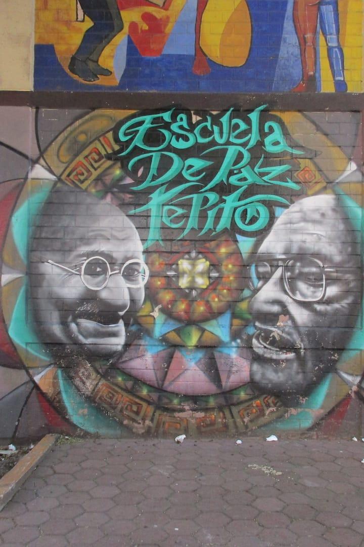 Mural Escuela de Paz Tepito