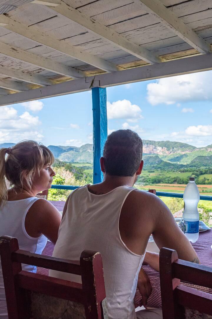 Amazing lunch at Finca El Paraíso