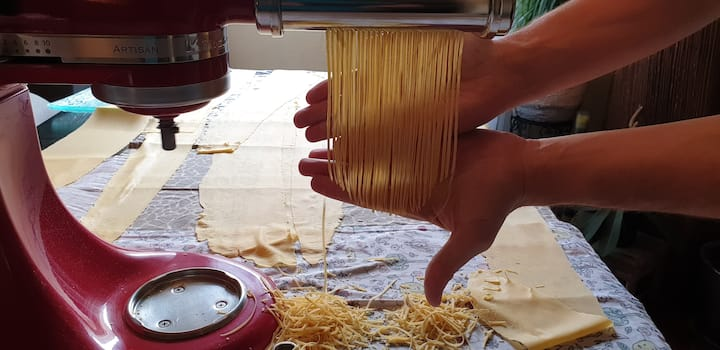 Atelier pâtes