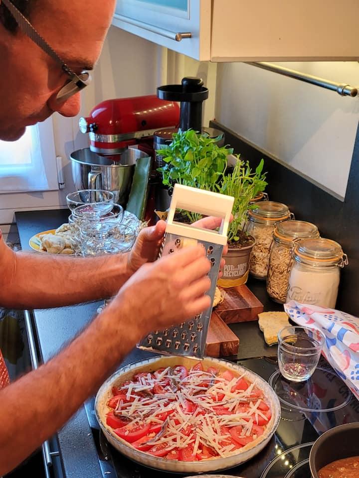 Tarte provençale à la tomate