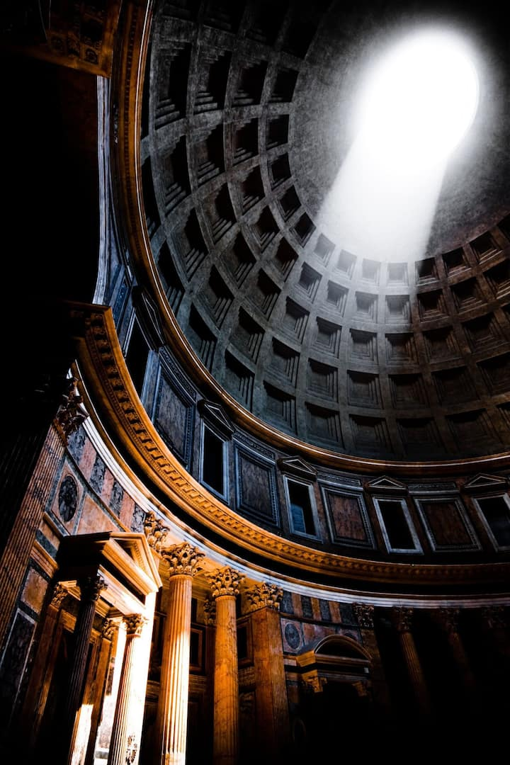 Pantheon, Rome's best preserved temple