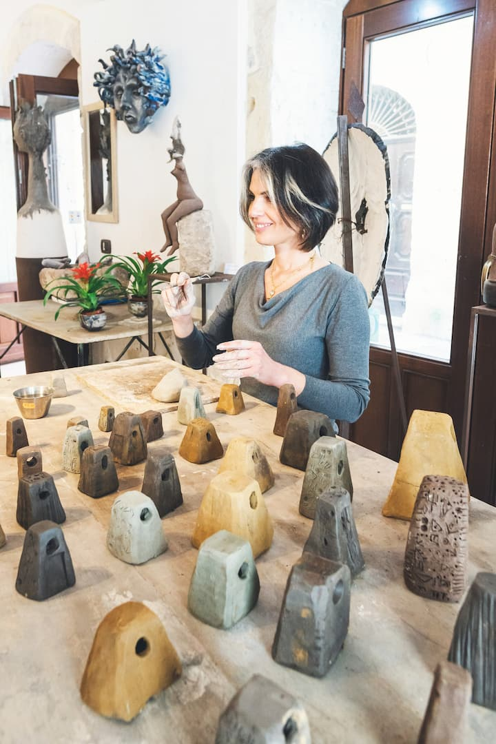 Sculptor workshop