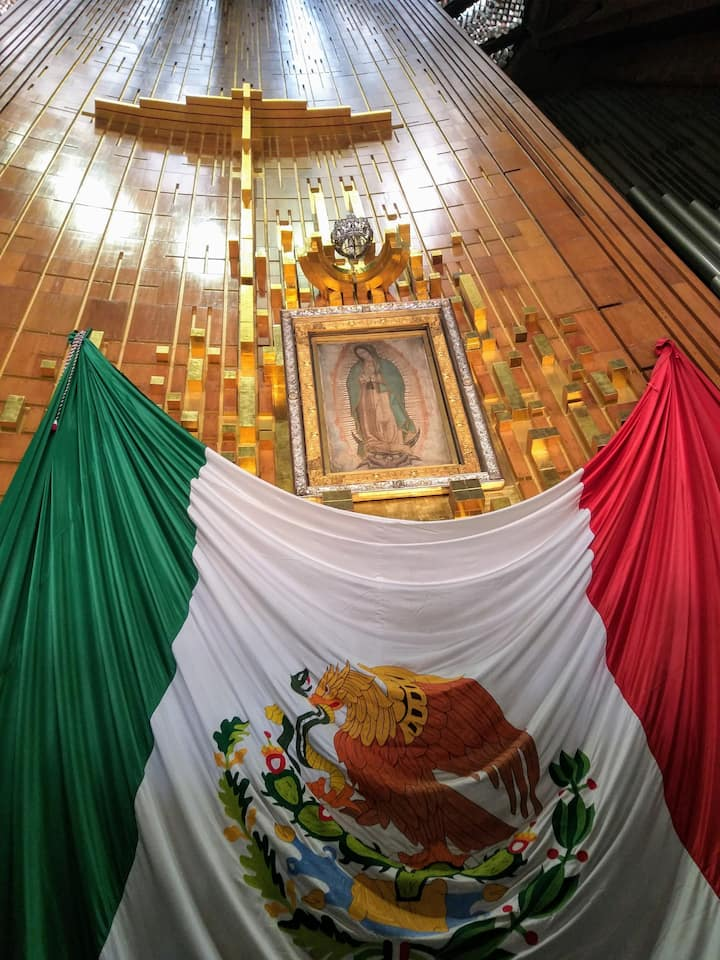 GUADALUPE AND FLAG