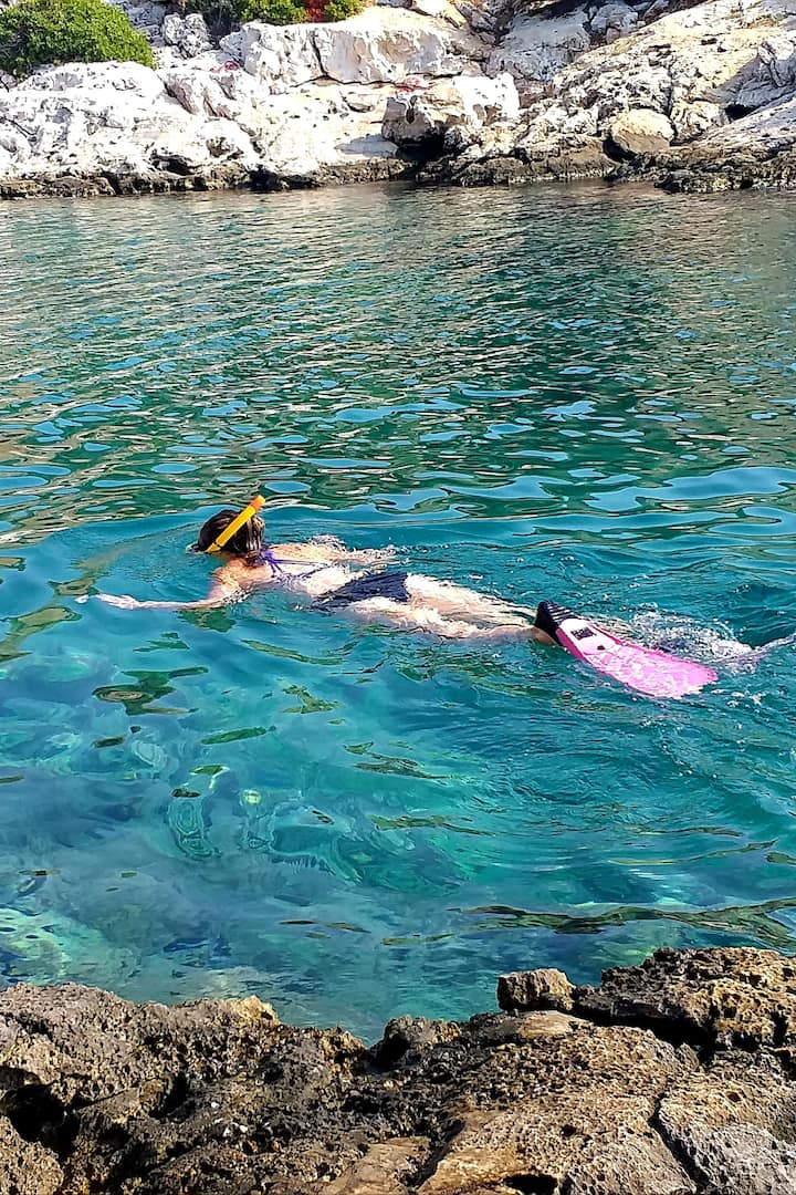 Snorkeling Vouliagmeni