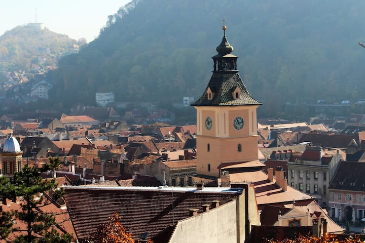 View over Brasov Old City Center