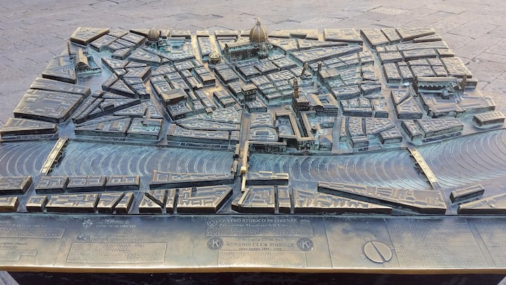Florence 3D map
