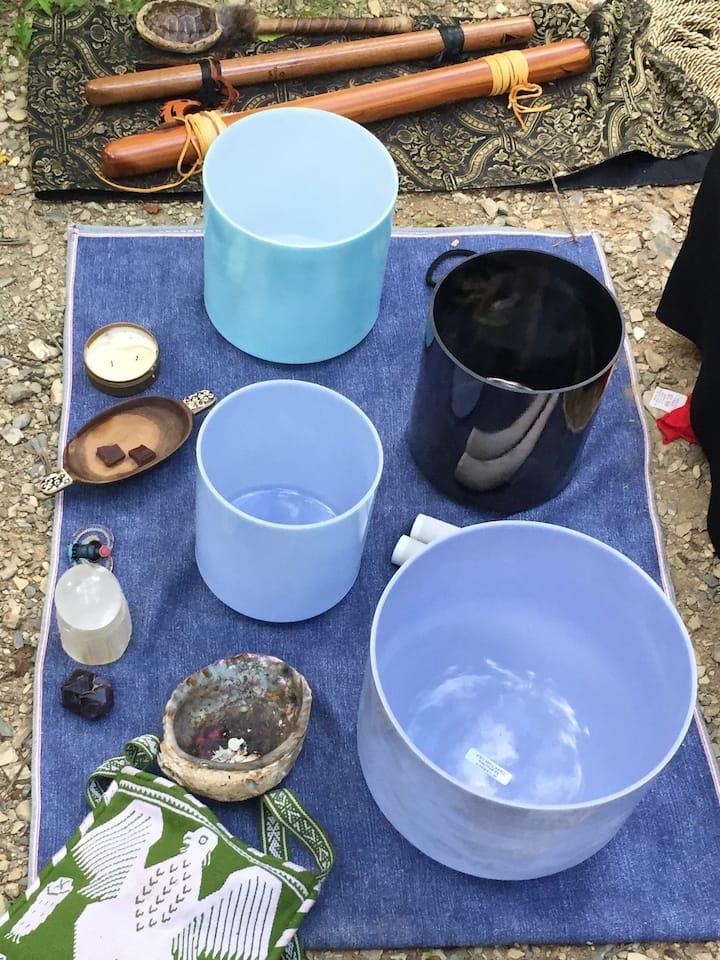 Gemstone Infused Bowls