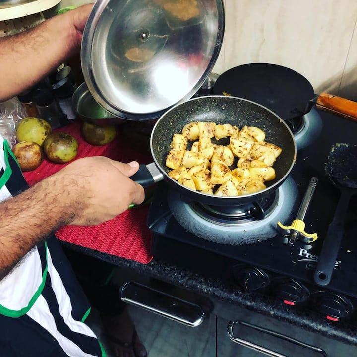 Zeera Aloo (Potato dish)