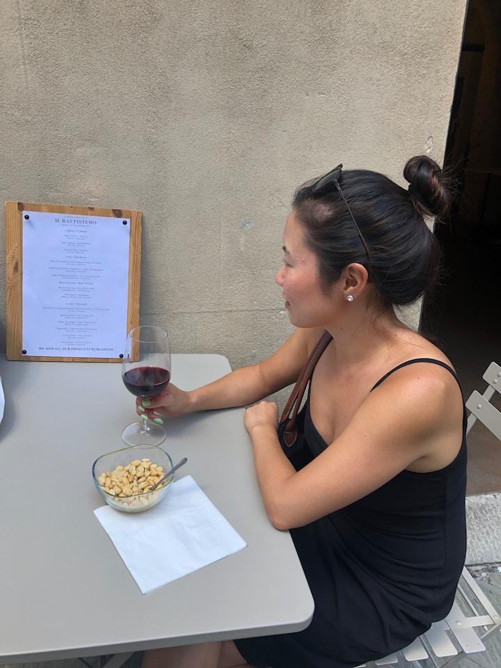 wine tasting outdoor