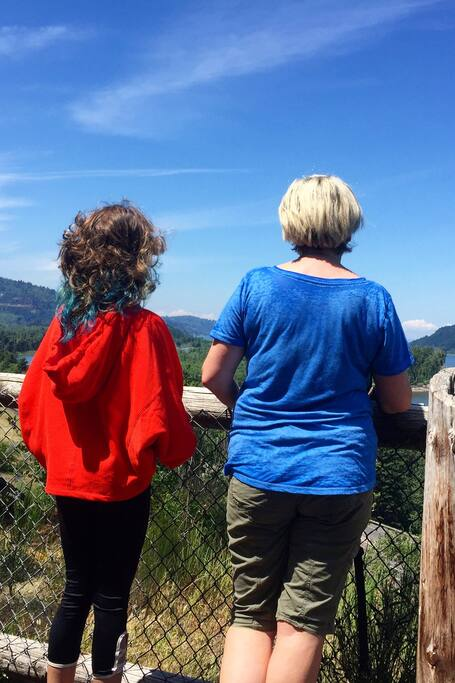 This beautiful view fits all ages!