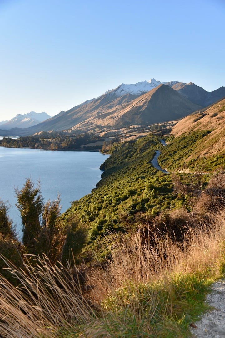 Epic vistas on the Glenorchy Road