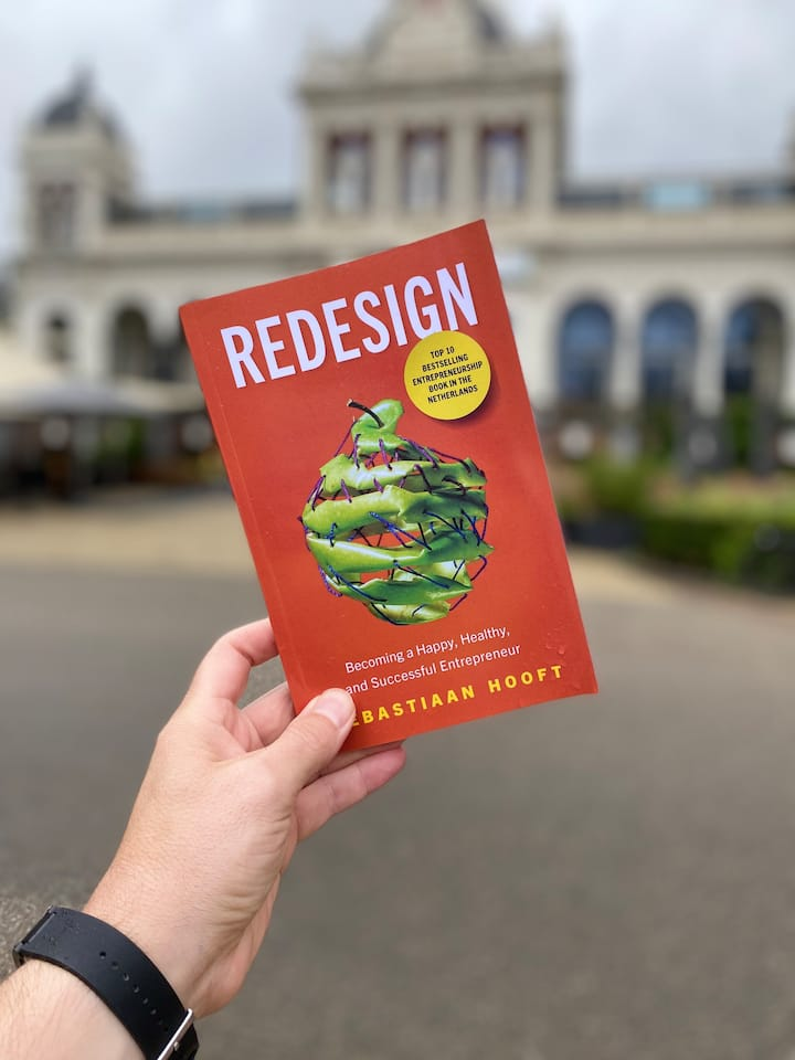 You'll receive my book Redesign