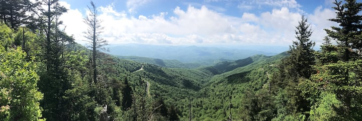 BLUE RIDGE PARKWAY at its best