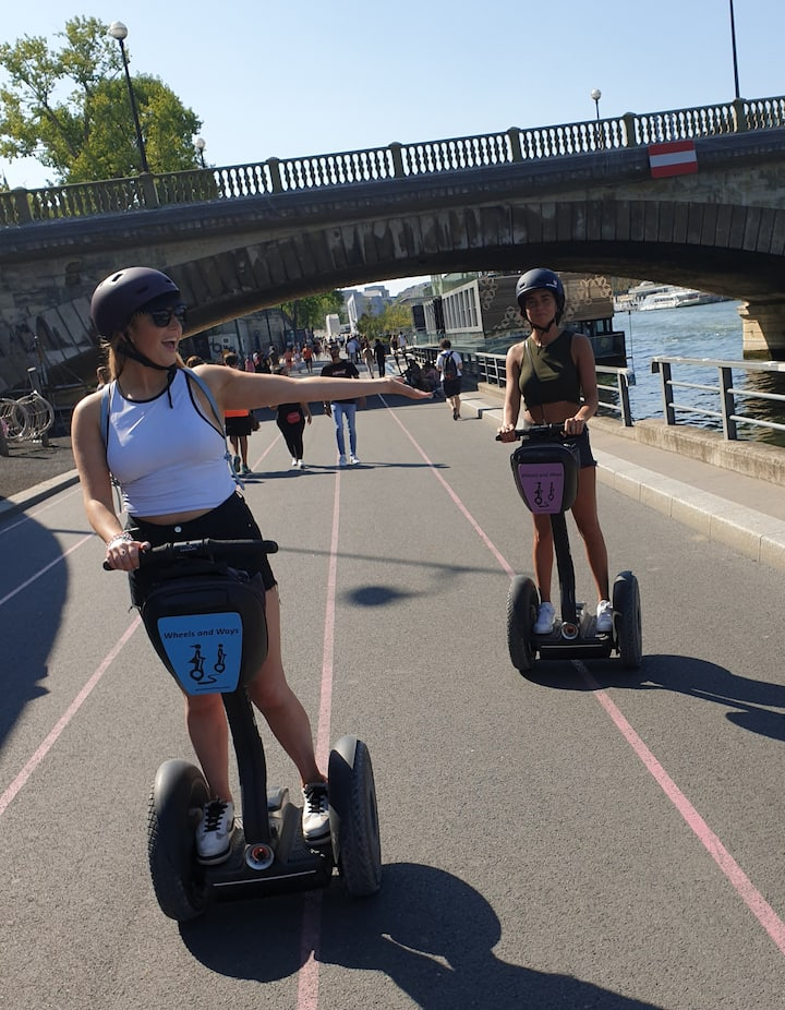 Sun, smiles and Segway