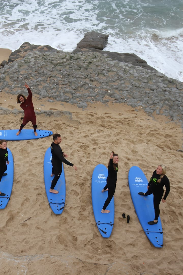 Surf Lesson - Warm Up