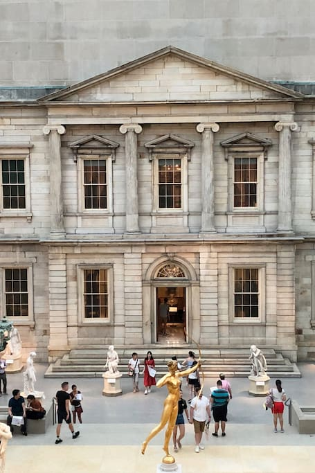 永远看不腻, 在大都会博物馆最受青睐的美国馆中庭