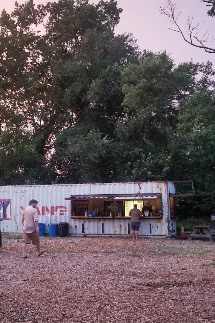 The Container Bar at Hominy Creek