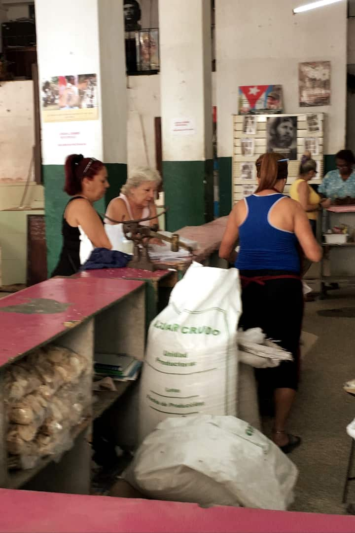 cuban market where only locals can shop