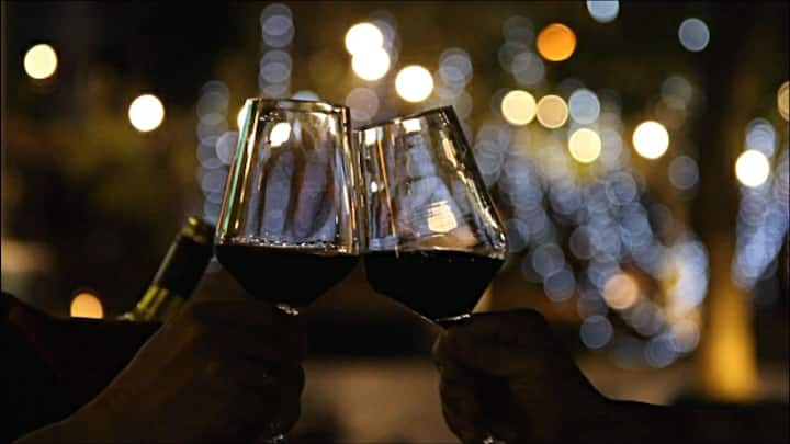 Lets have a toast with red wine ;)