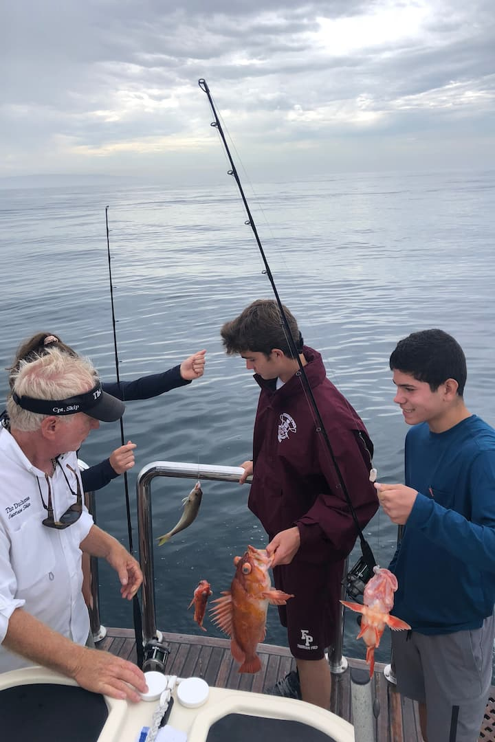 Rock fish are a sure thing!