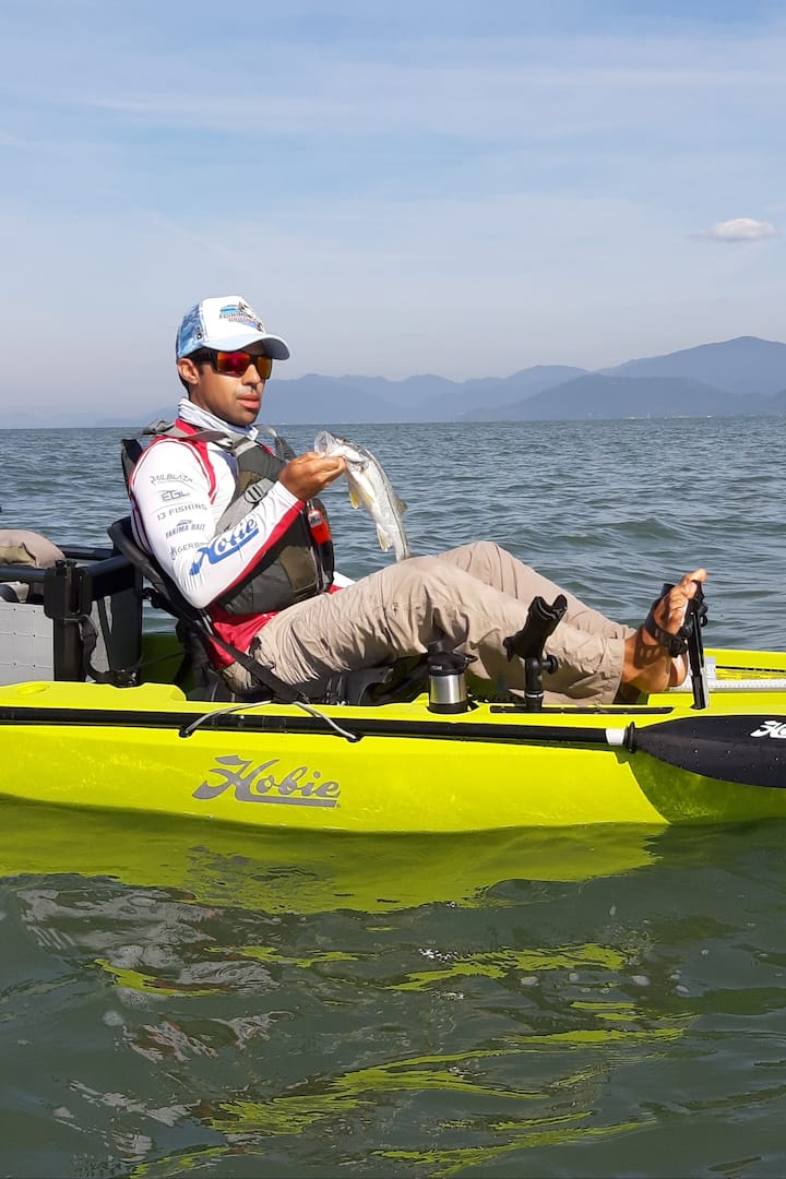 Kayak da Hobie a Pedal com segurança