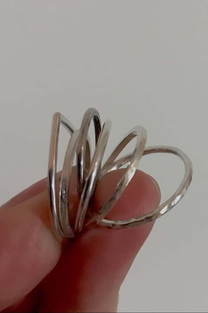 """Make a """"Stack"""" of Rings!"""