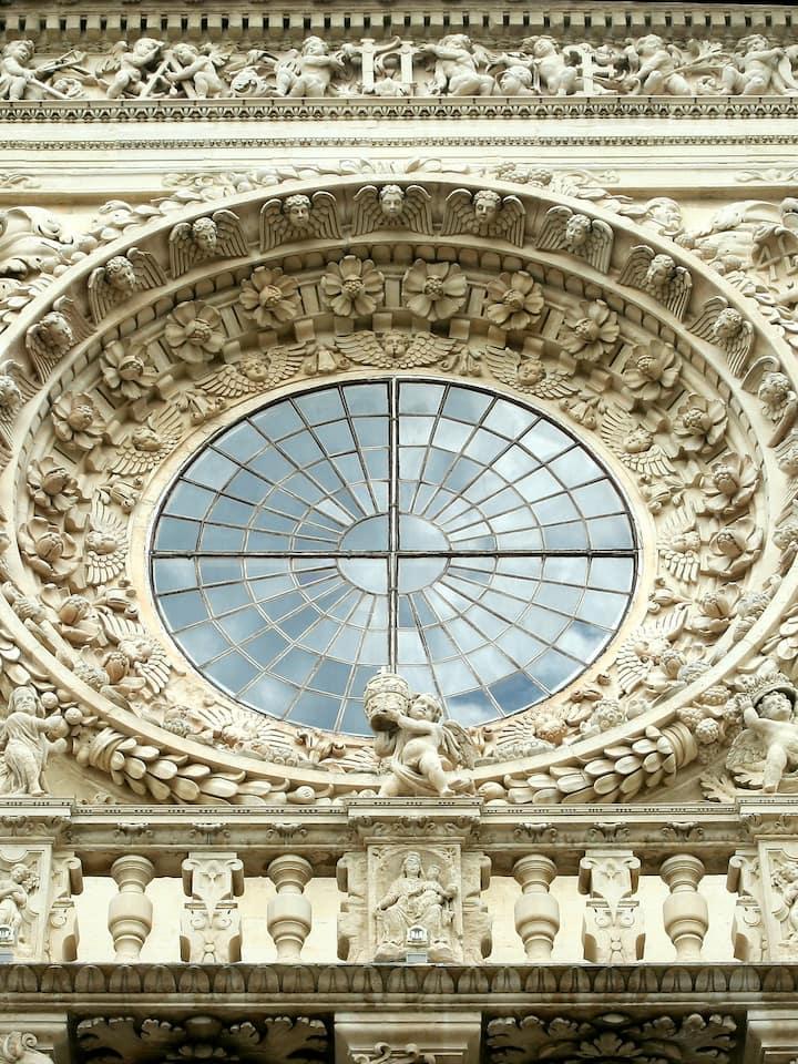 window-rose of Santa Croce Church