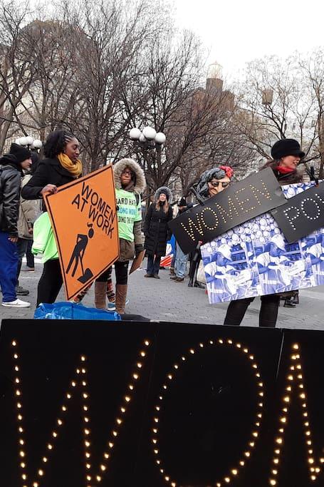 Tour Movimiento feminista en NYC