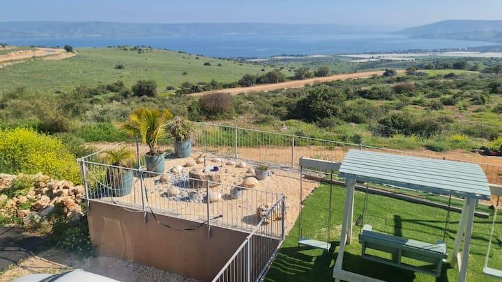 Tranquilo Nature &  the Sea Of Gallile!FREE WiFi