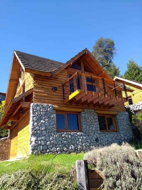 Warm and bright cabin