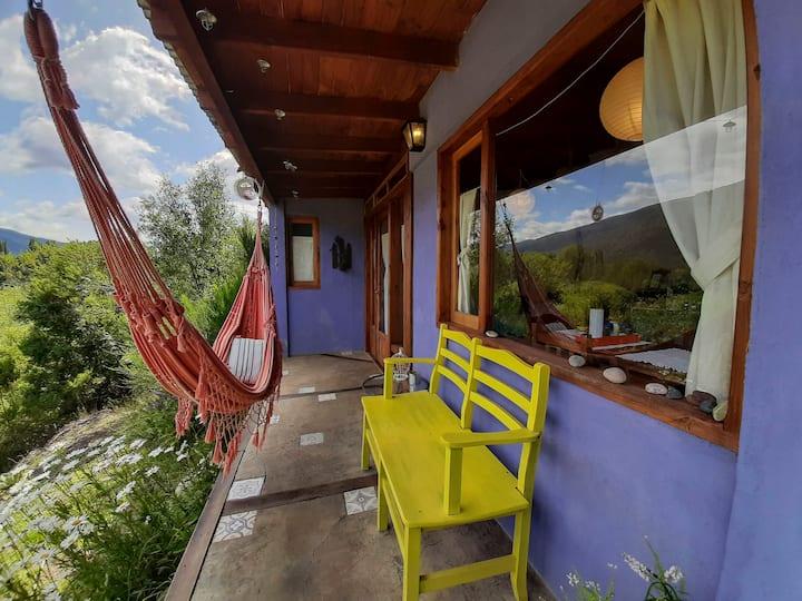 Las Nativas | Cabaña Vista al cerro Ideal parejas!