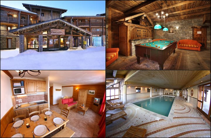 Apartment of ski 5/7 persons rent weekly only