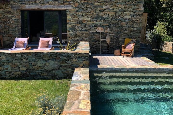 Bergerie A MAREDDA Pr St Florent piscine chauffée