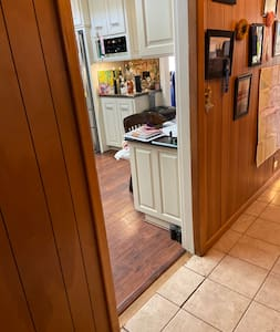 We have one doorway into our common area and kitchen and it is 31 1/2 inches wide