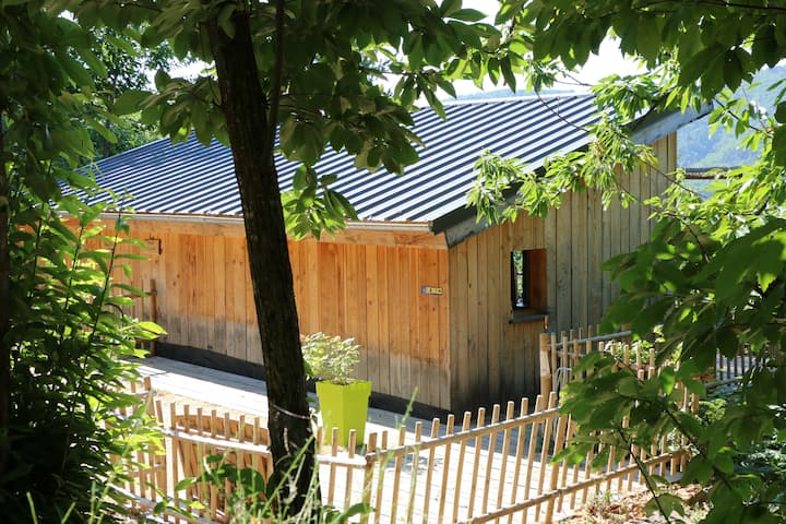 "Wooden cabin in ""les cevennes"""