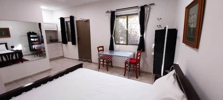 ☀  Zimmerise Kfar Saba- ground floor studio+garden
