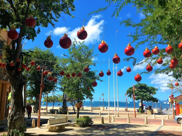 3 pers V - Soleil et Plage de Martinique