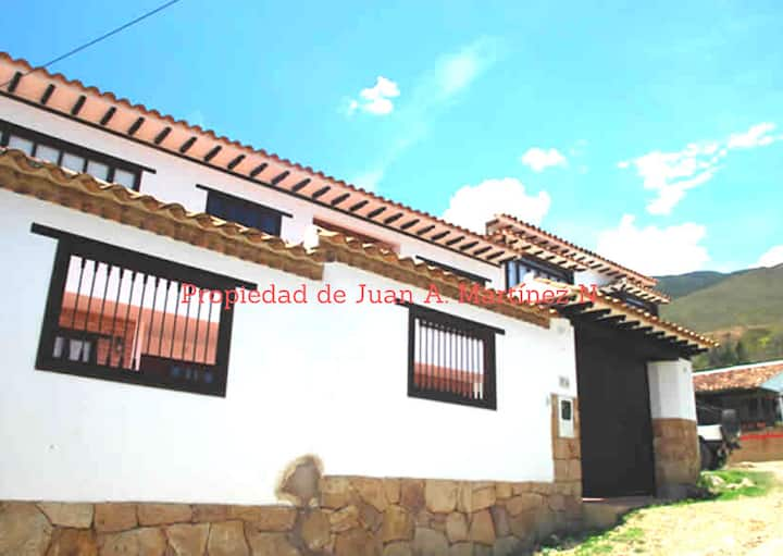 Casa de descanso en Villa de Leyva