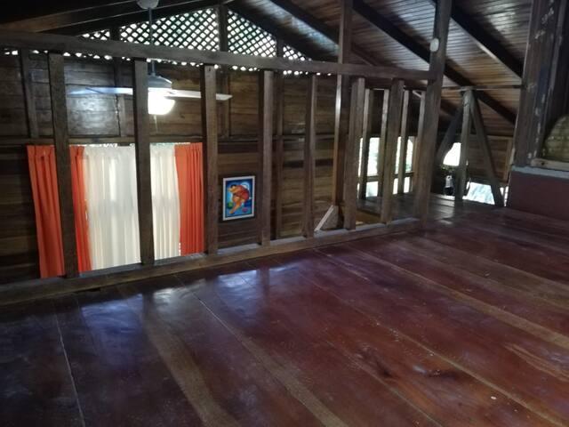 Mezzanine area.
