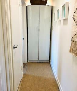 "36"" wide hallway"