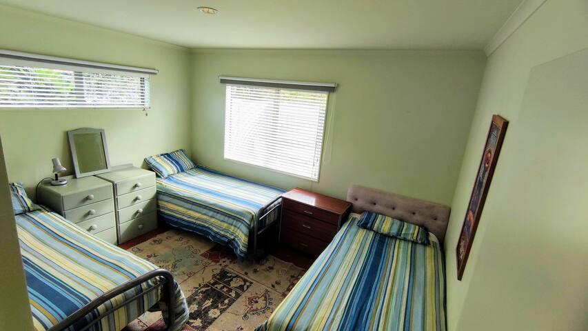 3 x Single Beds