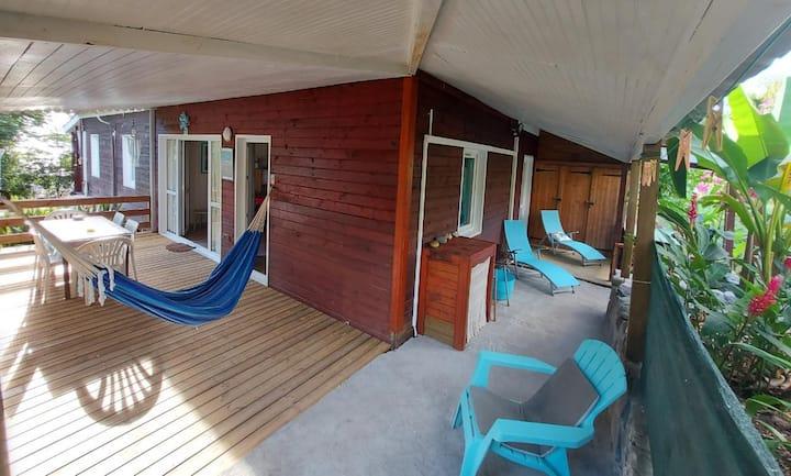 bungalow de la plage