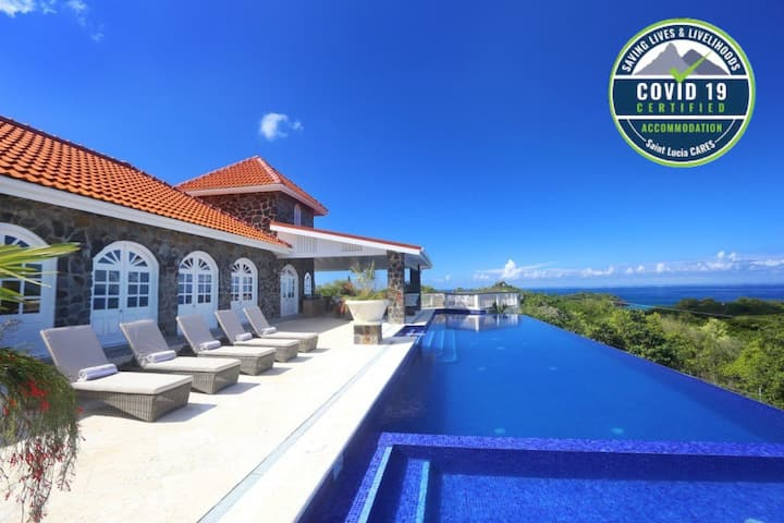 5* Luxury, Fully staffed Villa Outstanding Views