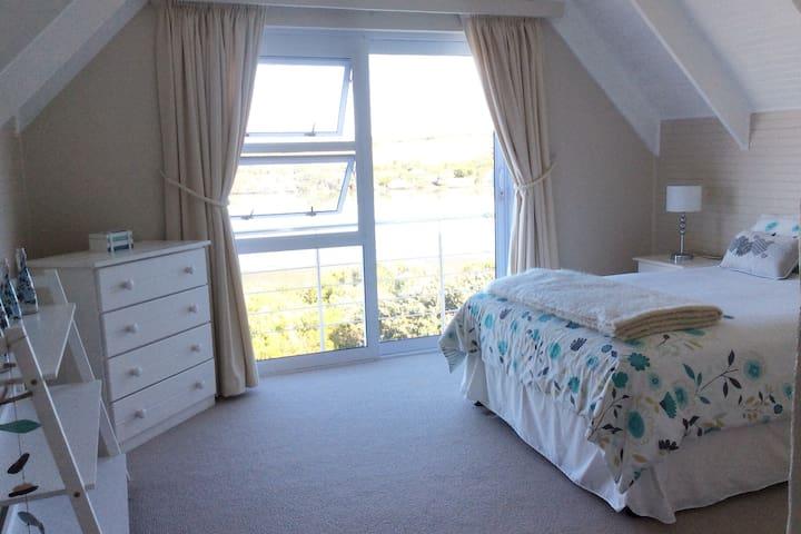 Bedroom 5, with double bed. Own bathroom but not en-suite.