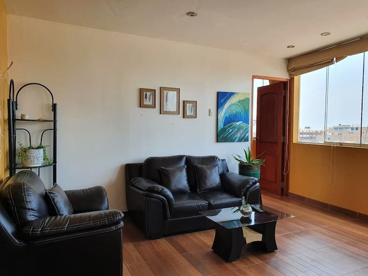 Sunny apartment with sea view Huanchaco
