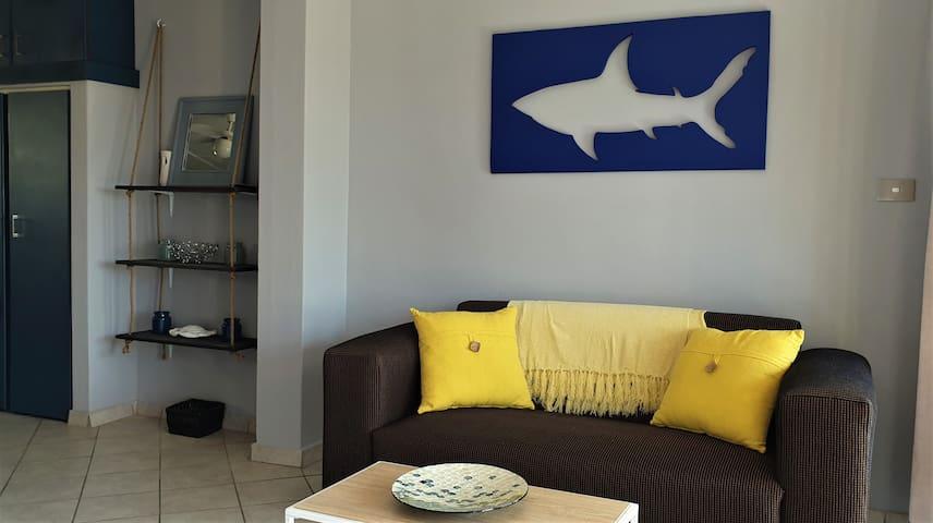 The Blue Shark Ocean View Studio